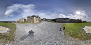 Charles Fort bei Kinsale 360 Grad Panorama Photosphere Aufnahme