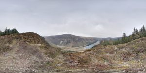 Glendalough National Park 360 Grad Panorama Photosphere