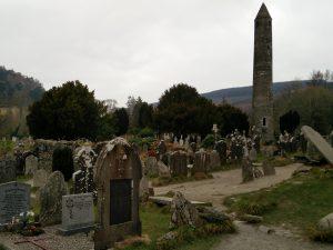 Glendalough Rundturm Friedhof