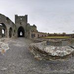 Jerpoint Abbey als 360 Grad Panorama Photosphere Bild