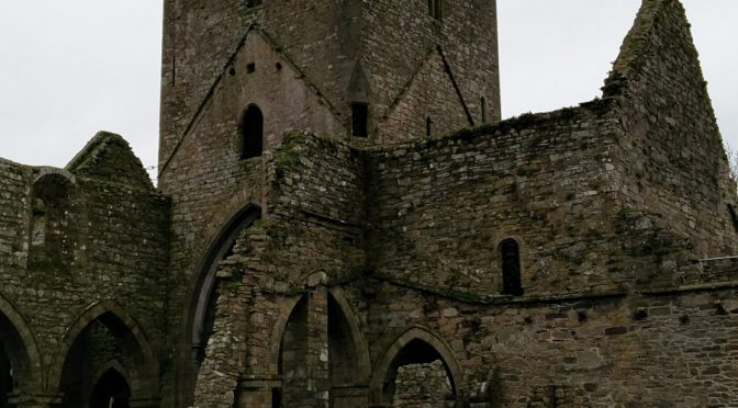 Die Jerpoint Abbey in Irland