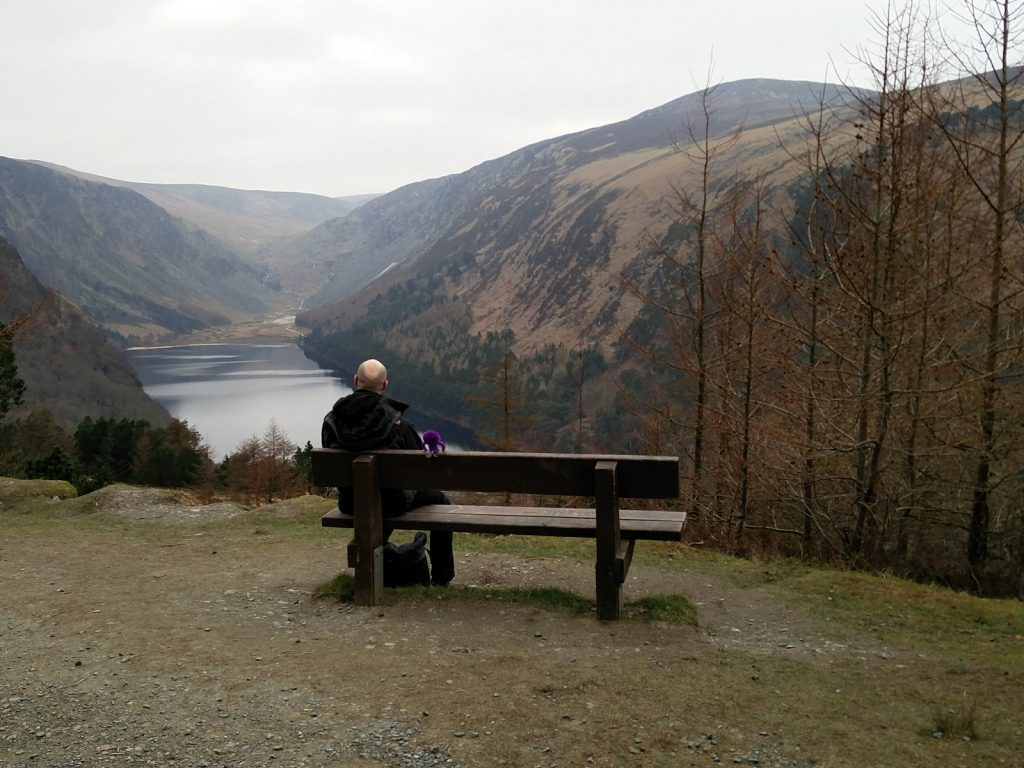 Mit Knoten-Knut im Glendalough Nationalpark