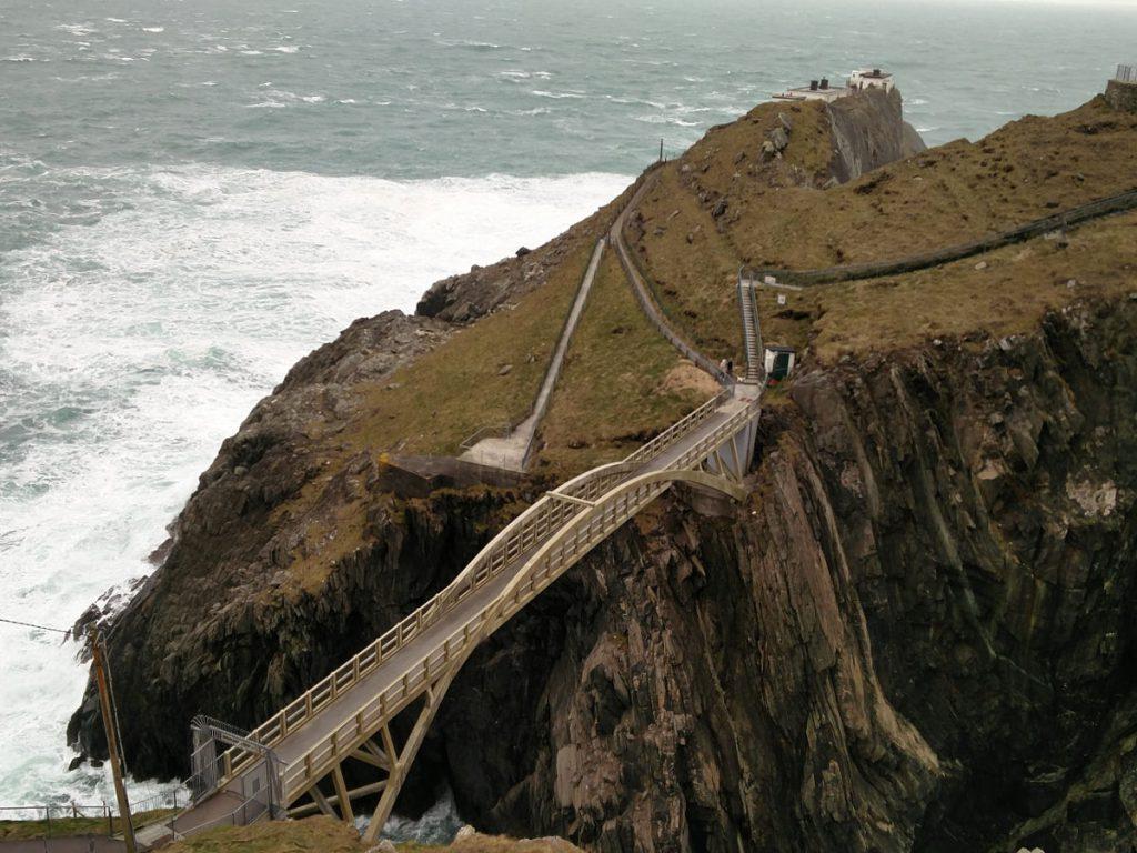 Die Mizen Bridge bei Mizen Head
