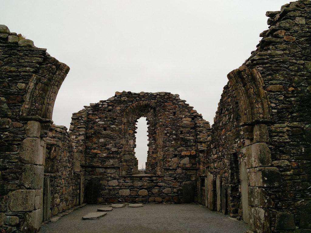 Ruine bei Glendalough