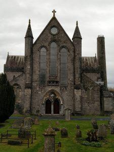 Sankt Cainnech-Kathedrale Kilkenny mit Knoten Knut