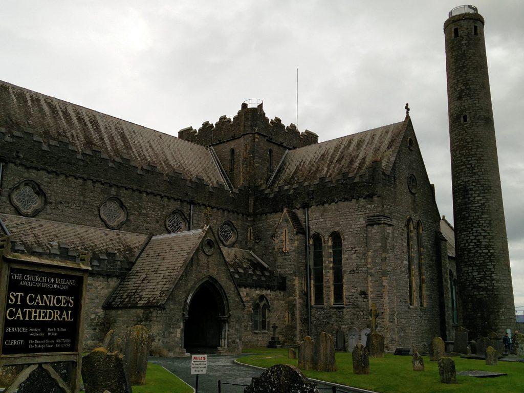 Die Sankt Cainnech Kathedrale in Kilkenny
