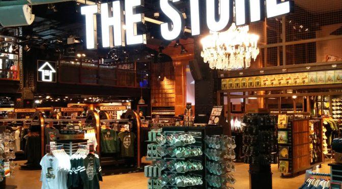 Store im Guinness Storehouse