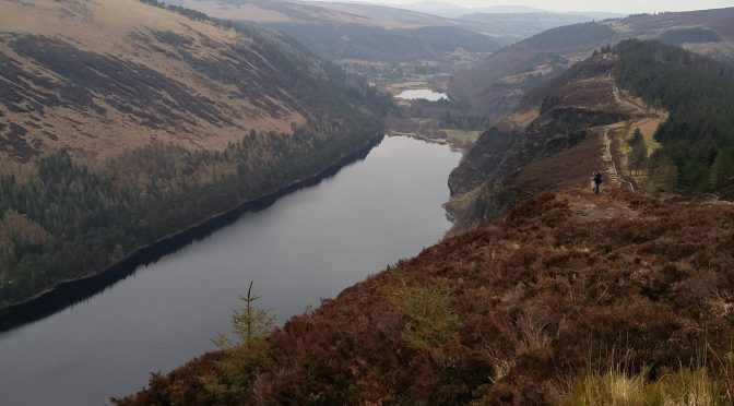 Wandern in Irland im Glendalough Nationalpark
