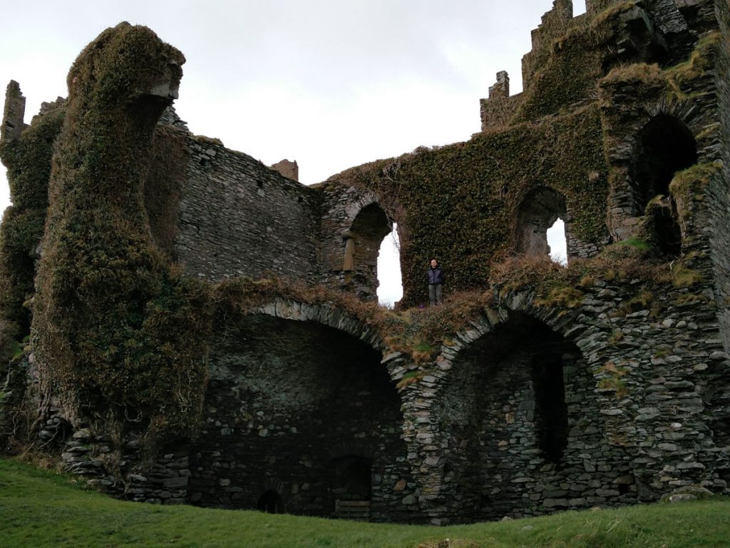Ballycarbery Castle beim Ring of Kerry