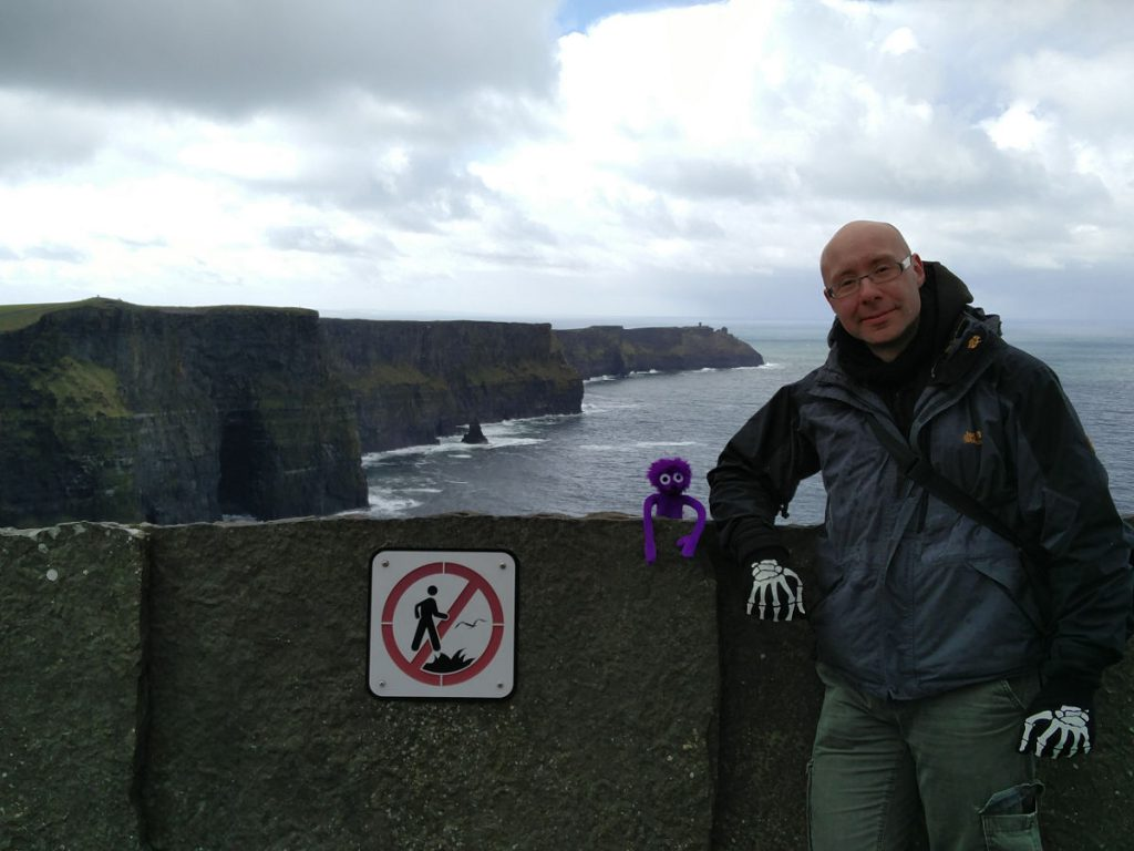 Cliffs of Moher Knoten Knut