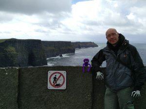 Cliffs of Moher Knoten Knut (Die Cliffs of Moher und The Burren)
