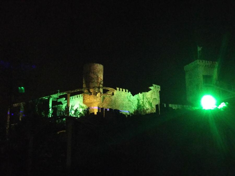 Der Drachenritt im Belantis in Lepizig beim WGT 2016