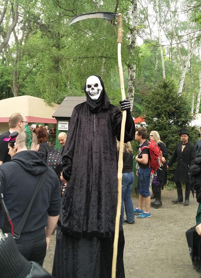 Der Tod im heidnischen Dorf beim WGT 2016