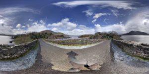 Meeting of the Waters 360 Grad Panorama-Photosphere Bild (Wandern in Irland Teil zwei: Wanderung im Killarney Nationalpark)