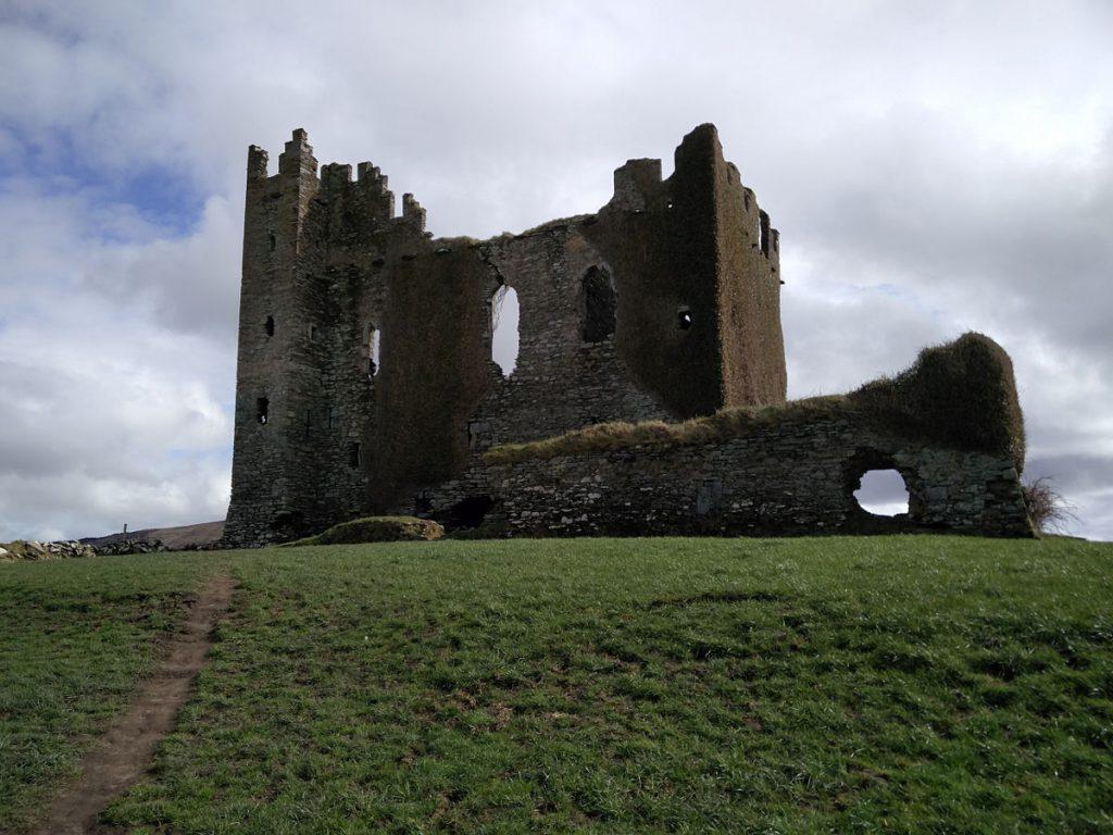 Ruine der Burg Ballycarbery Castle