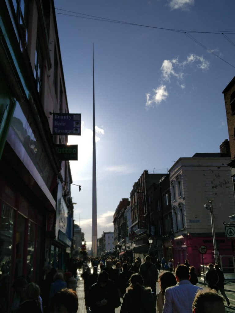 The Spire in Dublin Irland