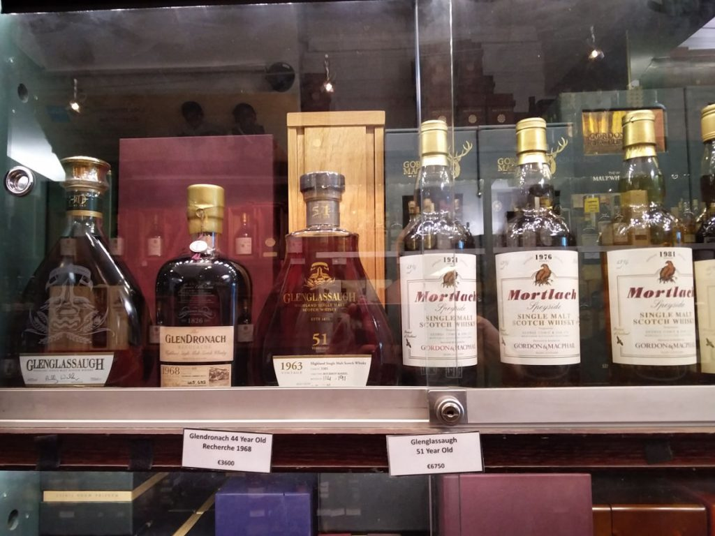 Teurer irischer Whiskey