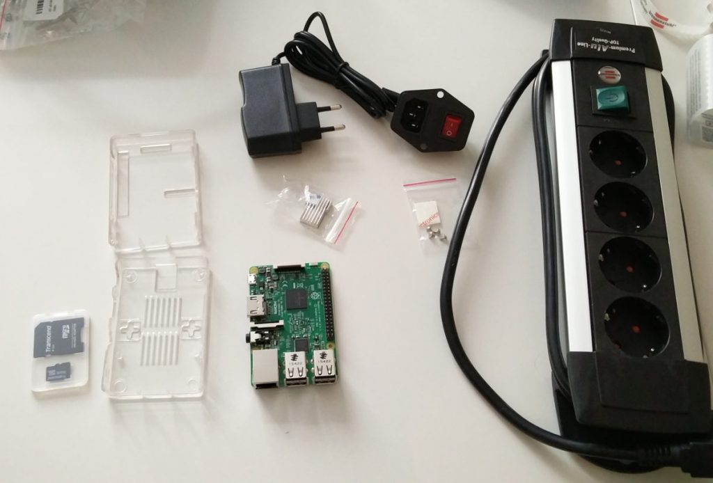 Raspberry Pi unboxed Safari Woche bei haven5