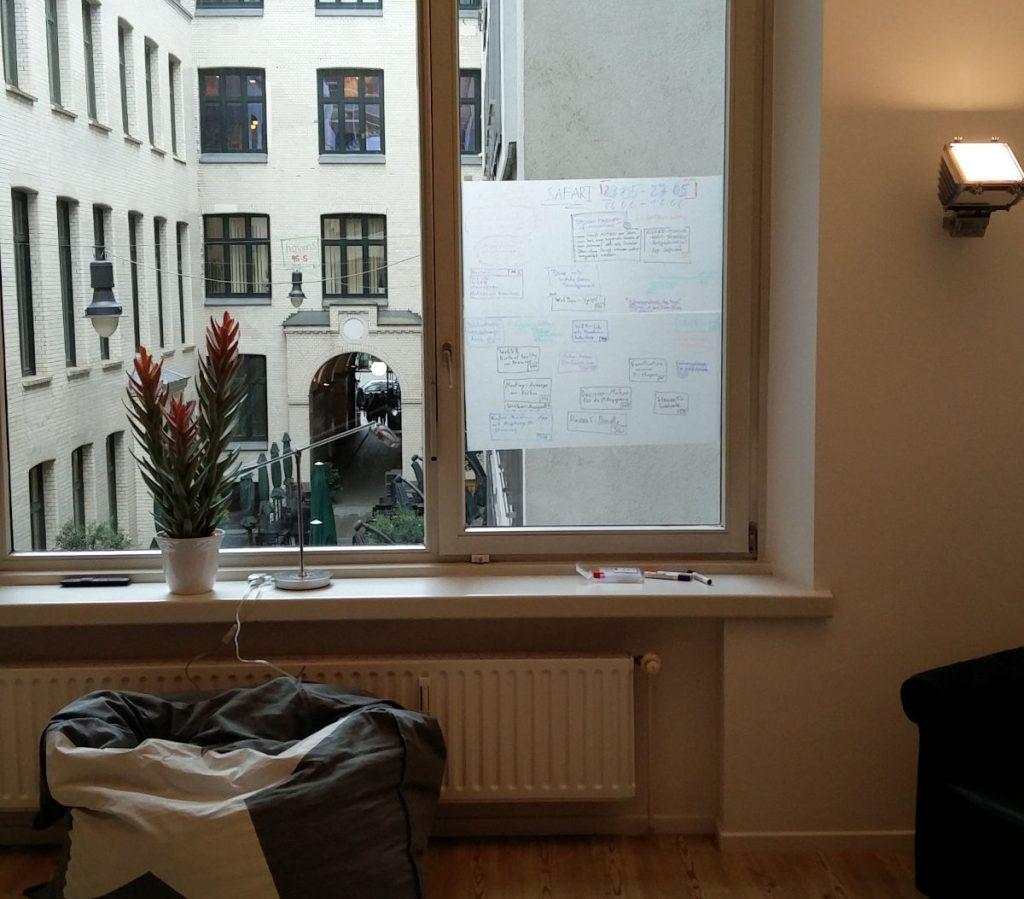 Themen- und Ideen-Liste auf Fenster für die Safari-Woche bei haven5