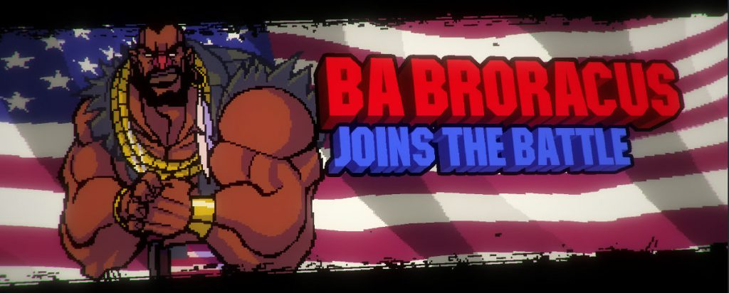 Broforce BA Broracus BA Baracus Parodie aus A-Team