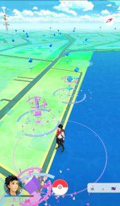 Pokemon Go PokeStop am Jungfernstieg Hamburg mit Lockmodul