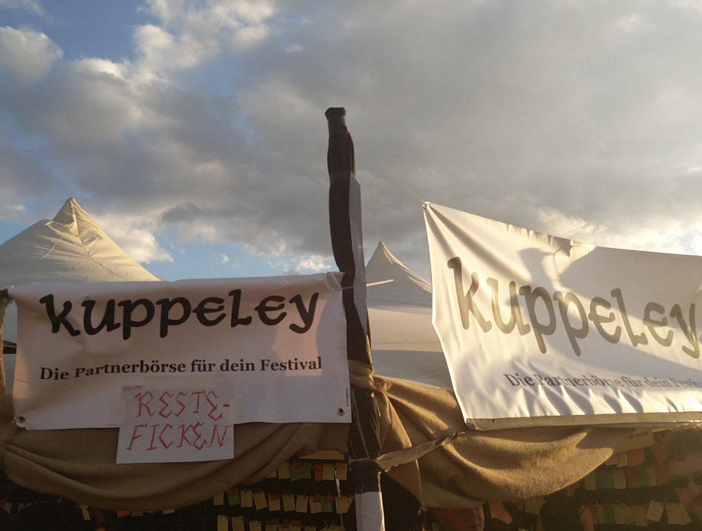 "Kuppeley Mittelaltermarkt M'era Luna 2016 Partnerbörse ""Reste Ficken"""