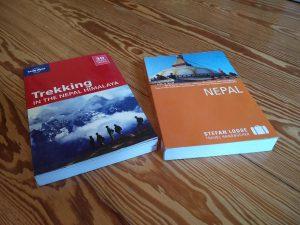 Bücher über Nepal und Trekking (Vorfreude auf Trekking in Nepal)