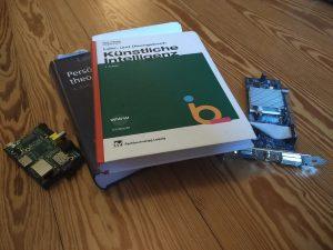 Bücher künstliche Intelligenz und ein Raspberry Pi (Meine Träume und Wünsche in einer Bucket List)
