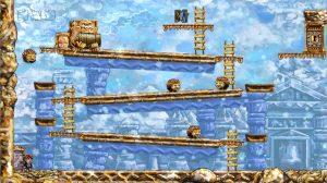 Braid Donkey Kong Level – Super Mario Anspielung (Braid – Wenn die Zeit zurückgedreht werden könnte)
