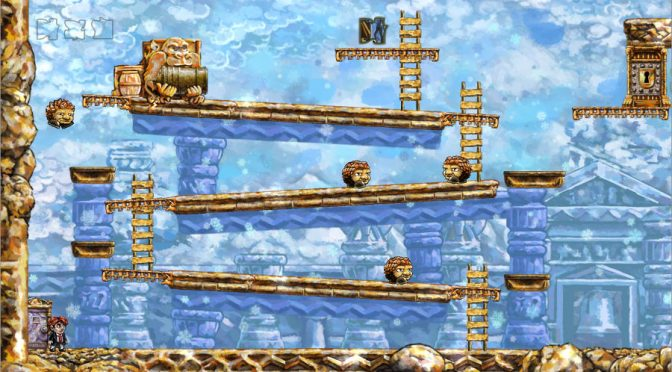 Braid Donkey Kong Level - Super Mario Anspielung