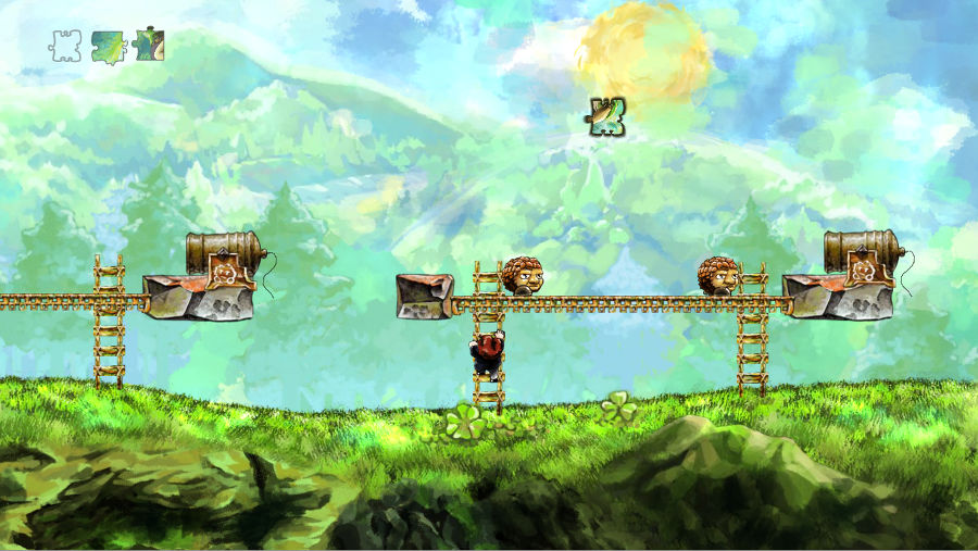 Braid Gameplay Landschaft