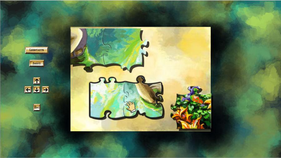 Puzzleteile bei Braid