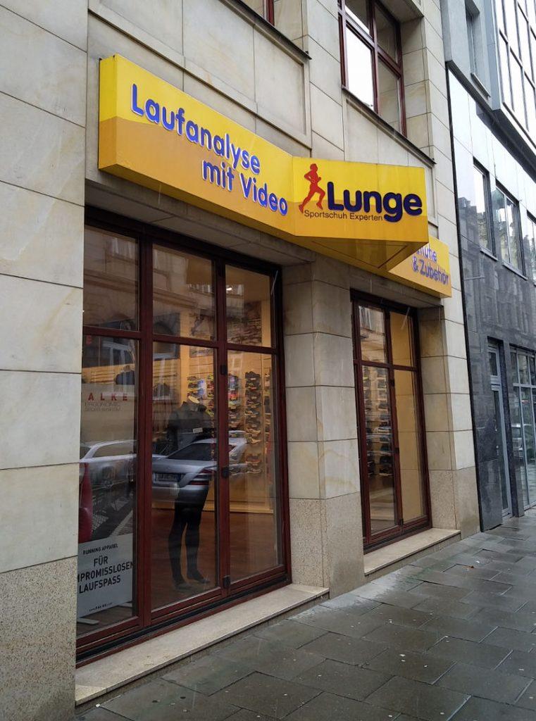 Laufschuhe Lunge in hamburg - Schuhladen mit Videoanalyse