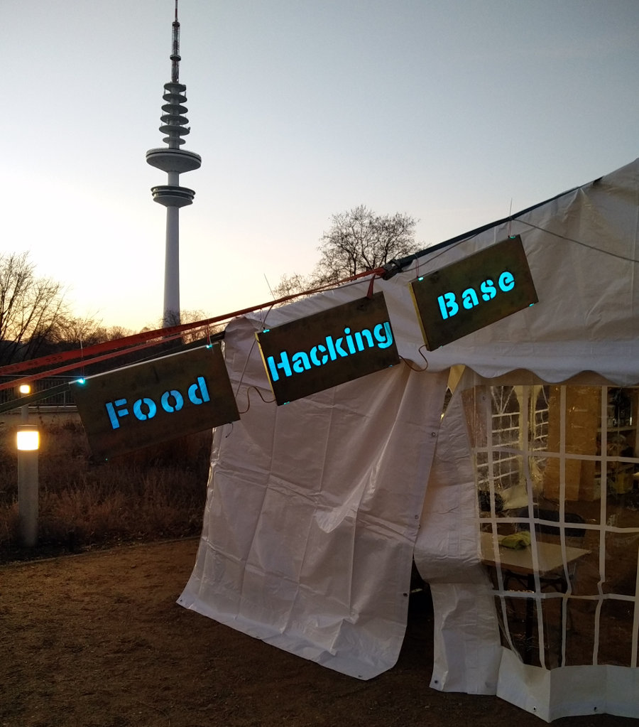 33C3: Die Food Hacking Base beim Chaos Communication Congress in Hamburg