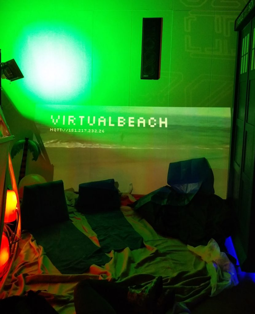 33C3 Virtueller Strand Virtualbeach auf dem Chaos Communication Congress in Hamburg