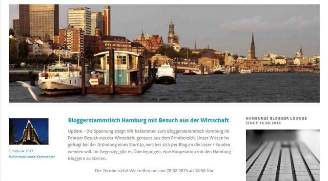 Die Hamburger Blogger – Der Hamburger Blogger Stammtisch