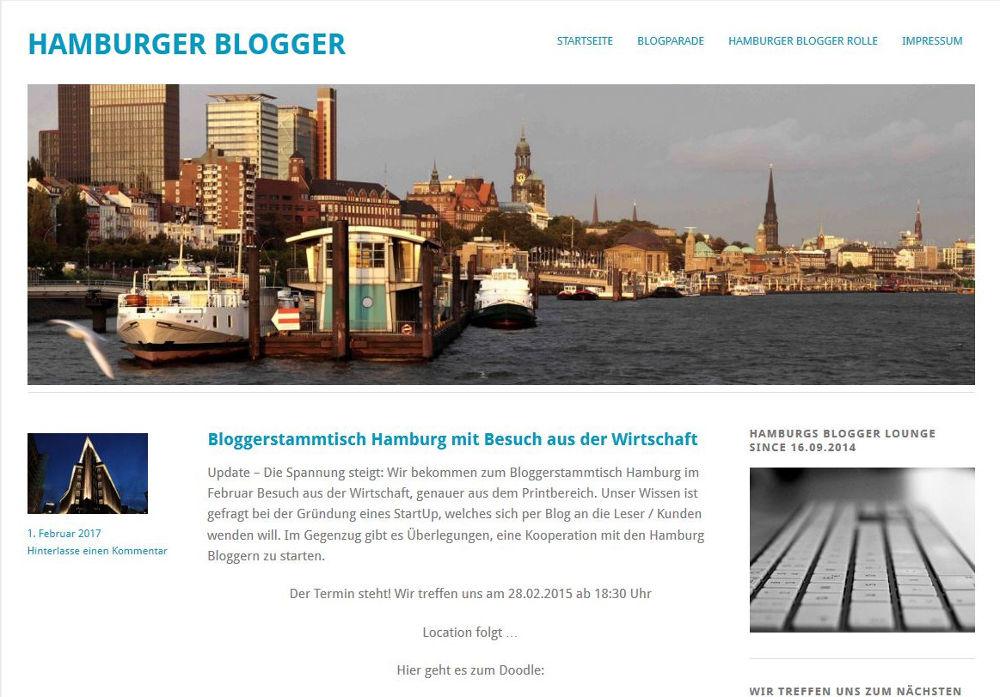 Blogger Stammtisch Hamburg