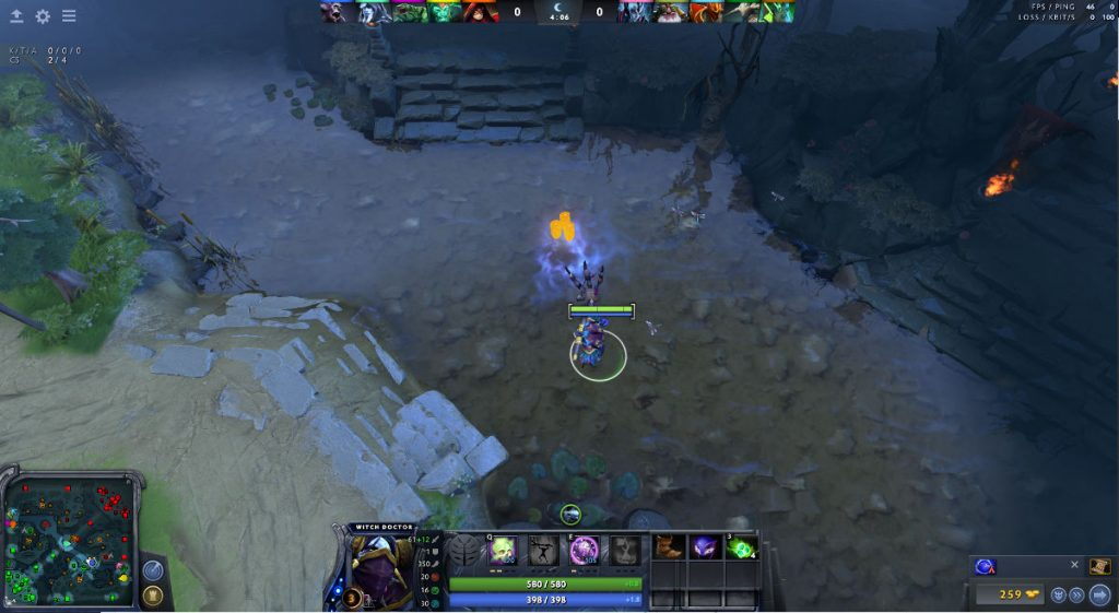 Illusionsrune bei Dota