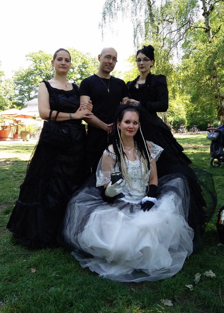 Auf dem Viktorianisches Picknick beim Wave Gotik Treffen 2017