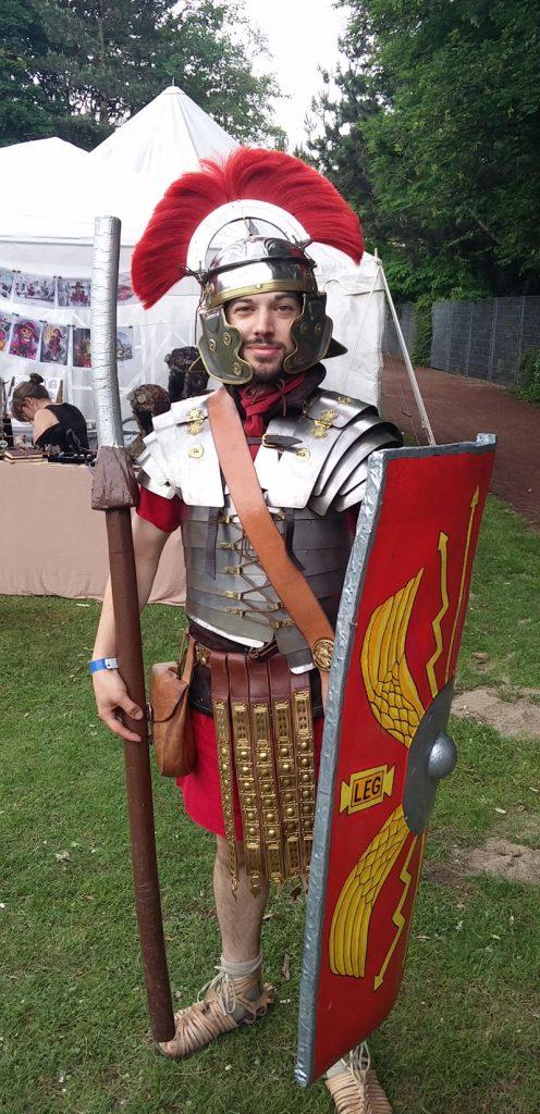 Römischer Legionär auf der Nordcon LARP