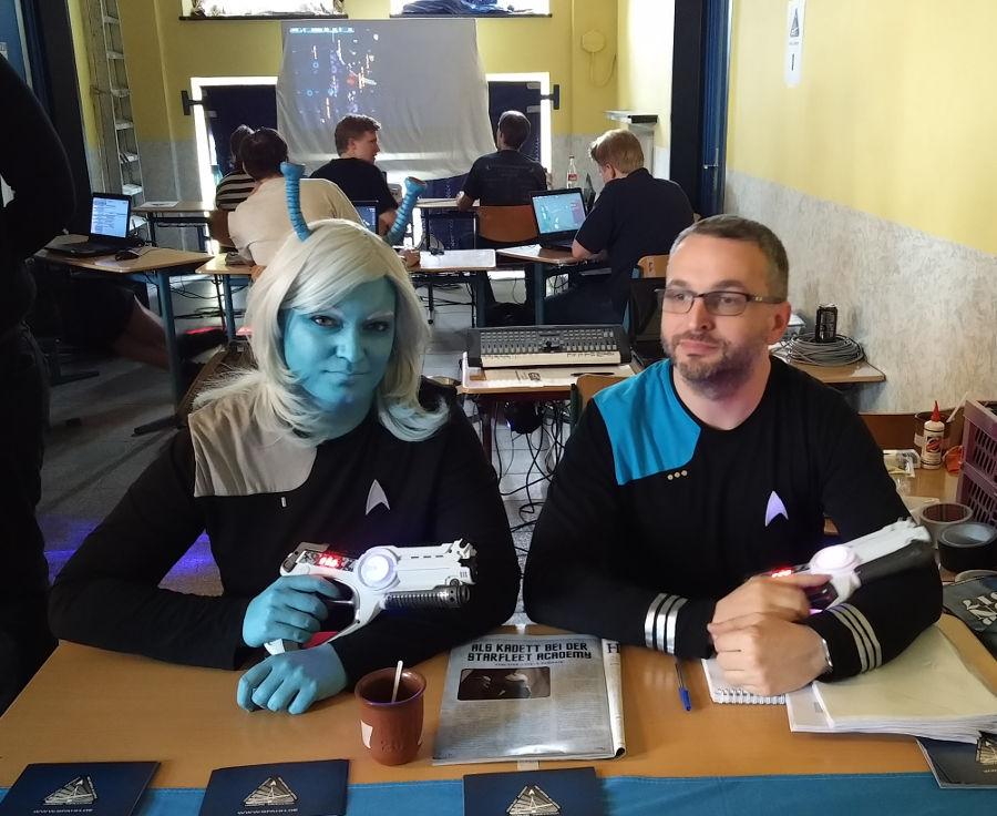 Star Trek Cosplay der Starfleet Academy Hamburg auf der Nordcon 2017