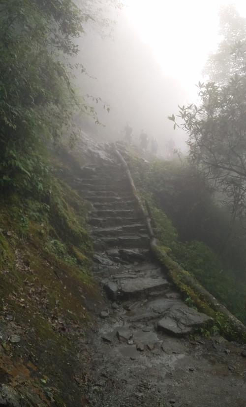Die Gefährten in Mordor Lanschaft bei Payia Nepal