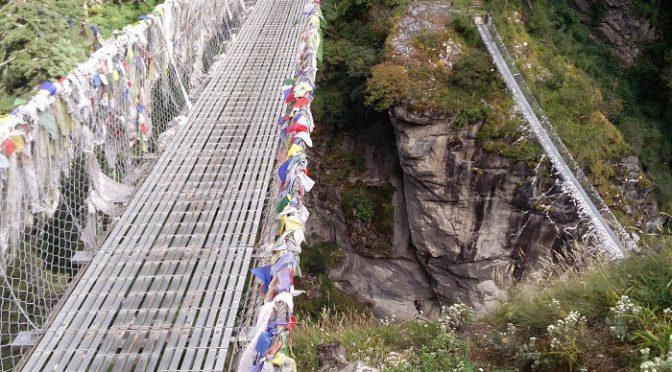 Trekking in Nepal: Trek nach Namche Bazar