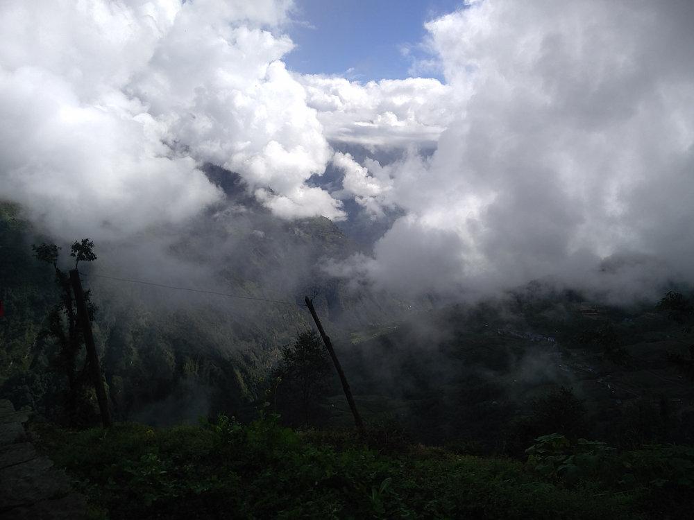 Landschaft bei Nunthala Nepal
