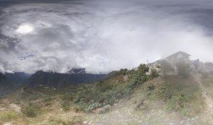 Vorschaubild: 360 Grad Panorama Photosphere Aufnahme von der Aussicht beim Everest Sherpa Resort bei Syangboche