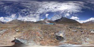 Nahe Base Camp Ama Dablam 360 Grad Panorama Photosphere Aufnahme Trekking Nepal klein