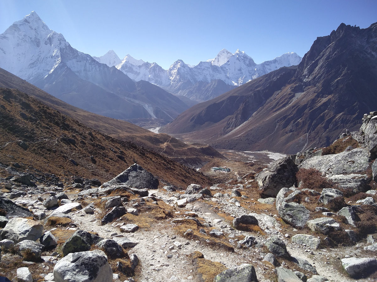 Blick auf Dugla und das Windy Valley