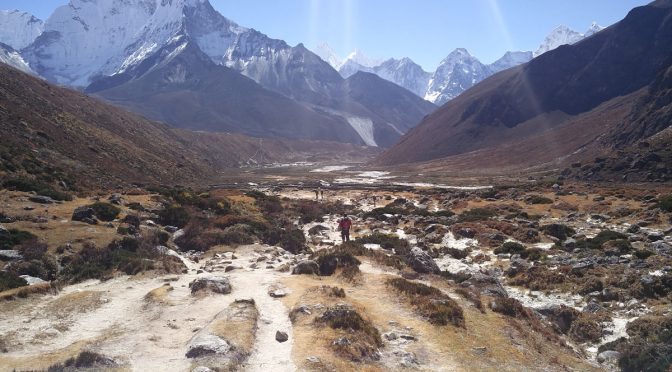 Trek nach Phortse über Windy Valley und Upper Pangboche