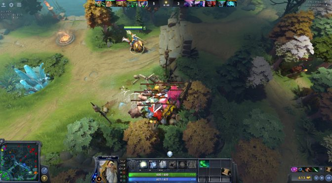 Ein gestacktes Camp durch KotL bzw. Keeper of the Light bei Dota