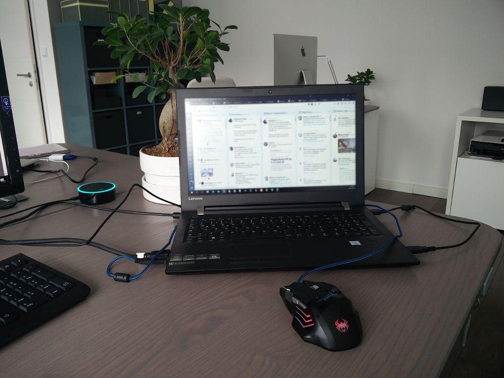 Social Media und Technik im Alltag - Mein Zweck der Existenz im Alltag - Alexa im Büro